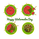 Concept for the National Watermelon Day
