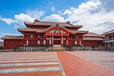 Shuri Castle landmark of Naha, Okinawa, Japan