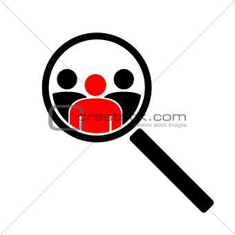 The search icon