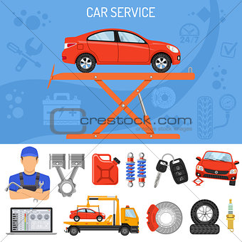 Car Service Banner