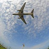 Stock photo of an aeroplane