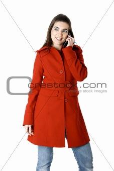 Cellphone woman