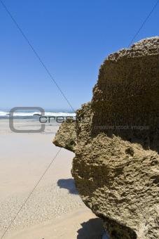 Beach Rocks & Ocean