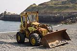 The beach tractor