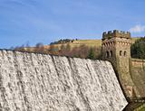 The water dam and tower
