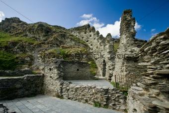 Tintagel castle ruins, Cornwall