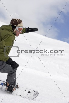 extreme snowboarding