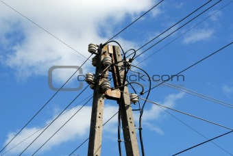 OLD ELECTRICAL WIRES
