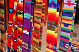Mayan woven belts