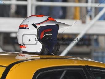 Car race abstract