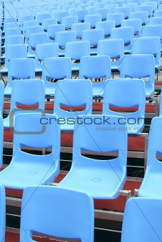 Unoccupied Theatre Seats in the Indoors