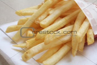 French Fries the ultimate Fast Food Meal