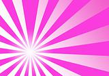 Pink Swirl Ray Abstract Wallpaper