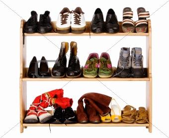 Footwear on regiments
