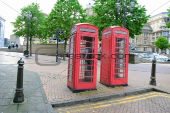 Old Telephone Boxes