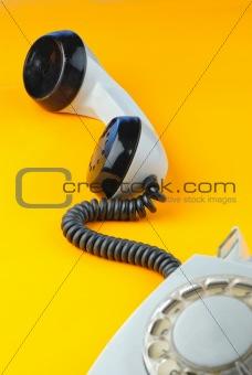 old f telephone