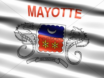 Flag of Mayotte, unofficial