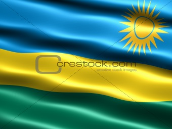 Flag of Rwanda