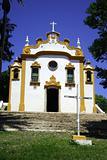 Yellow and White Church