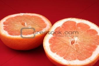 Sliced Grapefruit