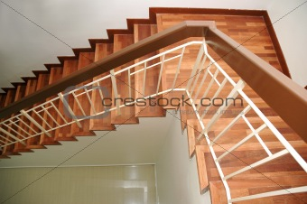 Top View Of Staircase