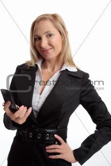 Woman mobile communications