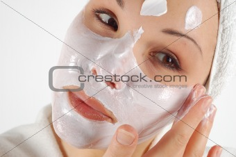 beauty mask