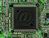 MPC processor with email symbol