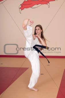 Martial Arts Woman
