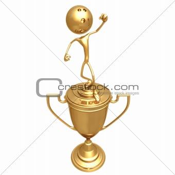Bowling Sport Trophy