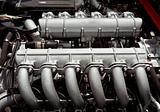 flat 12 cylinder boxer engine