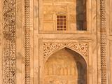 Taj Mahal Wall Arch Details Agra India