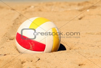 Volleyball in Sand