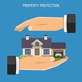 Property Insurance Concept