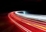 Curved Light Trails