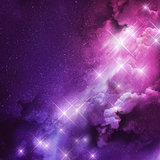 Pink and Purple Nebula