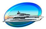 Motor boat draw