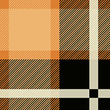 Tartan Seamless Pattern Background. Black and Beige Plaid, Tartan Flannel Shirt Patterns. Trendy Tiles Vector