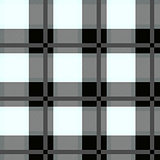 black and white Tartan Seamless Pattern. Vector illustration