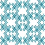 Mint Blue Green Tartan Vintage Background Vector Illustration.