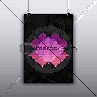 Modern poster design