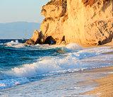 Tropea evening beach, Calabria, Italy
