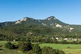 Alpine landscape in southeastern France