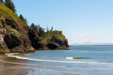 Cape Disappointment Lighthouse by Waikiki Beach