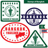 Stamps of Bangkok, Thailand