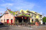 Entrance in chinese Yap temple, Georgetown, Penang, Malaysia
