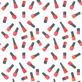 Nail polish bottles seamless pattern