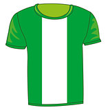 T-shirt flag Nigeria