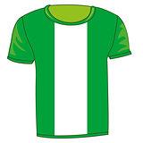 T-shirt flag Nigeria