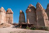 Unique Cafe Located in Love Valley in Cappadocia, Turkey